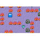 Pacman gets the diamonds